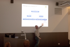 Tom Conway providing an interesting lecture on sequence comparison