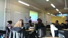 Dr. Bernie Pope providing tips on Python Programming