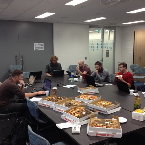 Wikipedia edit-a-thon + Pizza lunch